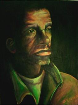 George, acrylic, 2004